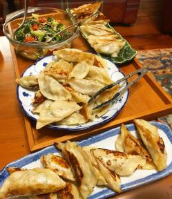 Homemade Gyozas