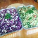 Nigella Lawson Red Seasonal Salad & Italian Orzo Salad